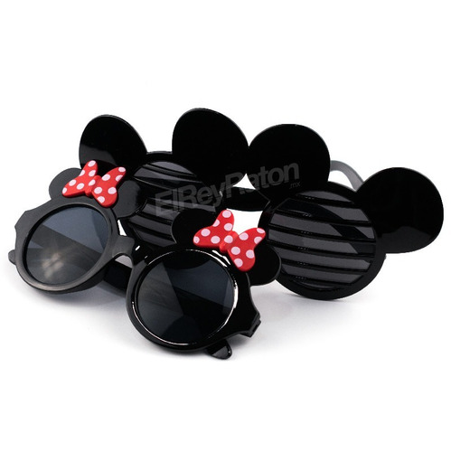 40 lentes de mimi mickey minnie mouse para fiestas batucadas