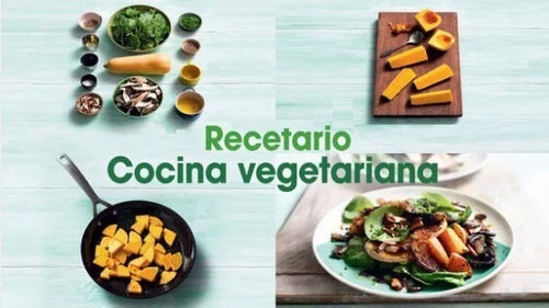 40 libros de recetas vegetarianas + regalos