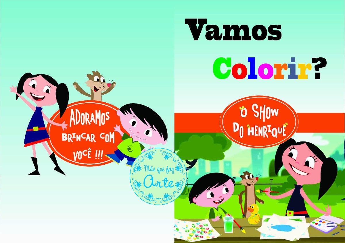 40 Livros De Colorir Show Da Luna Personalizado R 105 00 Em