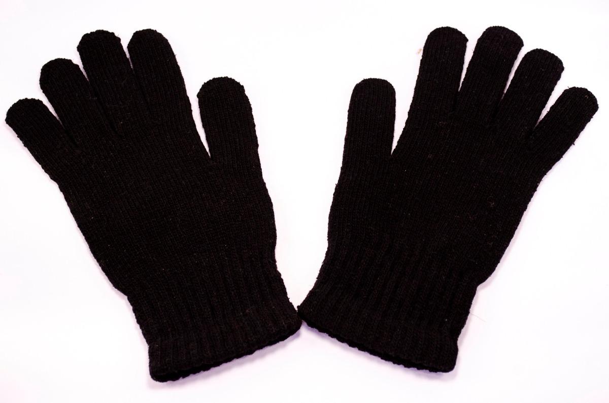 75dd5bf168335 40 Luvas Inverno Frio Masculina Adulto Lã Preta - R  180