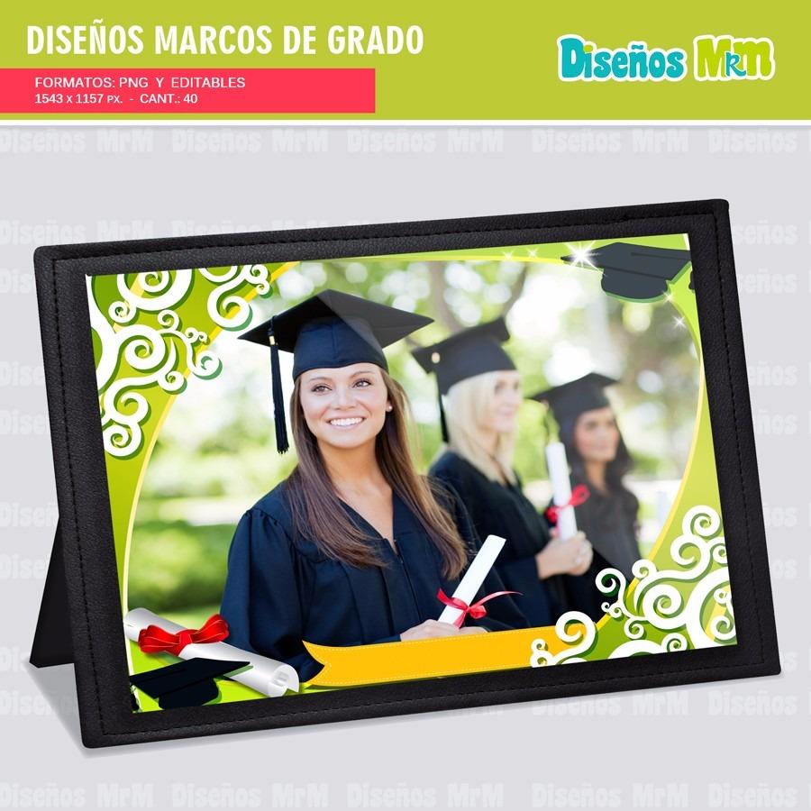 40 marcos photoshop para fotograf u00eda de grado y graduaci u00f3n