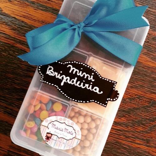 40 marmitinha plastica organizador doces/bijouterias festa