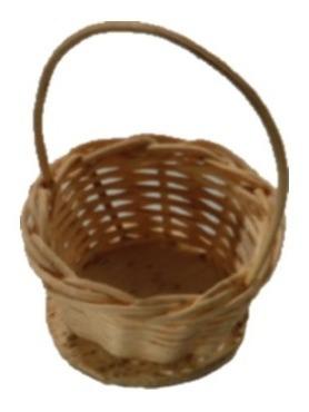 40 mini cesta lembrancinha palha bambu ref.200 03x05
