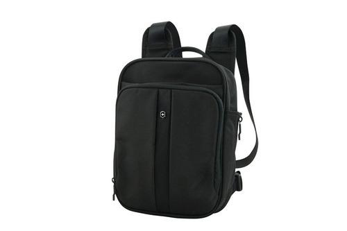 4.0 mini mochila negra 3 formas de colgar nylon