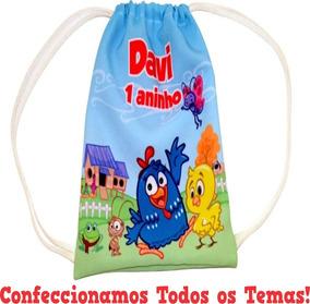 2851759a0 Mochila Saco Em Tactel Personalizada no Mercado Livre Brasil