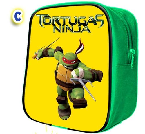 40 mochilitas  dulcero tortugas ninja