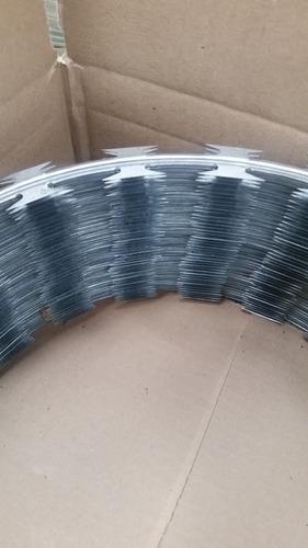 40 mts concertina ouriço cerca arame farpado proteção 300mm