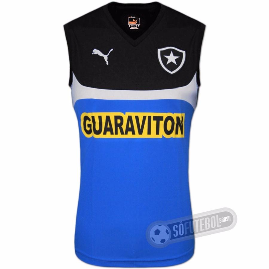 9a148a9301984 40% Off Camisa Regata Botafogo Oficial Treino Puma 2014 2015 - R ...