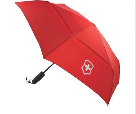 4.0 paraguas rojo automático nylon