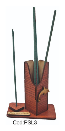 40 porta sahumerios madera fibrofacil souvenirs  15 años