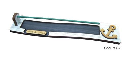 40 porta sahumerios madera fibrofacil souvenirs 15años