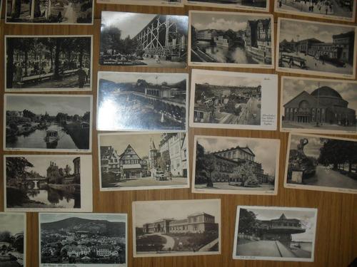 40 postales antiguas de bad kissingen y hannover alemania