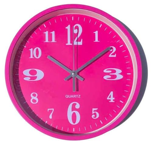 40 relojes de pared colores con pila incluida