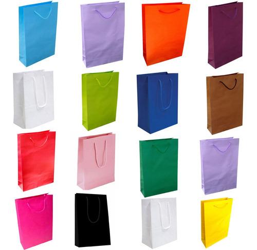40 sacola de papel flamengo  25x17x6 lembrança surpresa