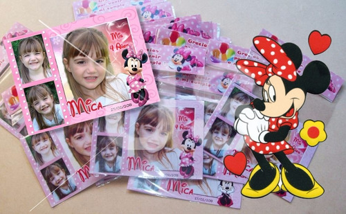 40 souvenirs tarjetas imantadas 8x11 cm + cuadro 40x30cm