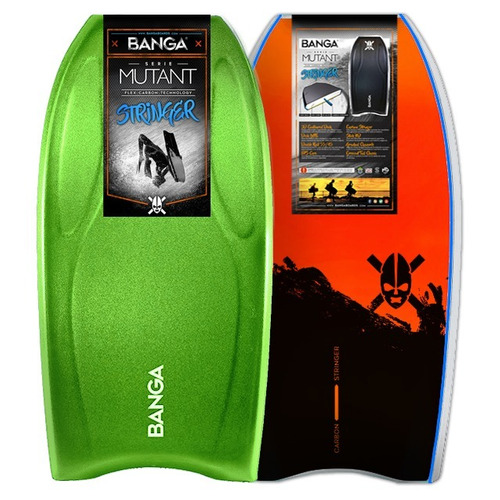 40% tabla de bodyboard - banga mutant stringer carbono -