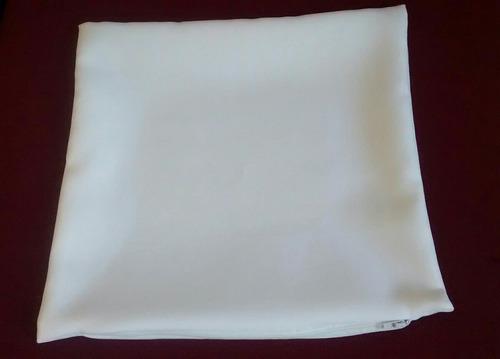 40 unid capa almofada oxford 40x40 branca - sublimação