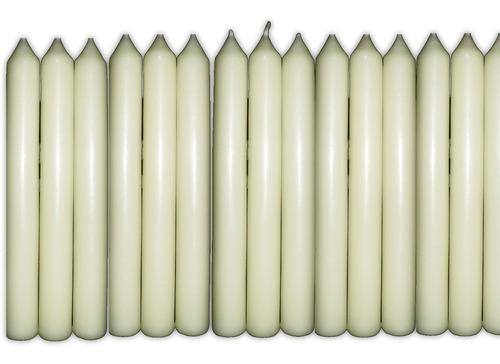 40 velas número  número 8 branca excelente