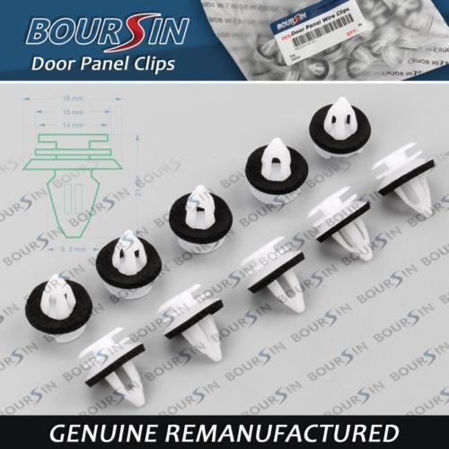 40 x puerta panel clips para bmw e34 e36 e38 e39 e46 x 5 m3