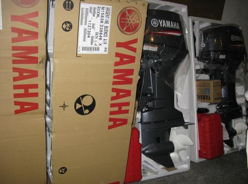 40 yamaha arranque electrico okm  3 años de garantia