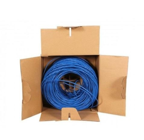 (400 bs. s) cable utp cat5e por metro o bobina