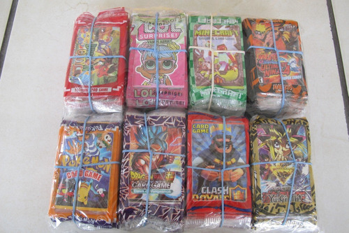 400 cards dragon ball z super = 100 pacotes fechados