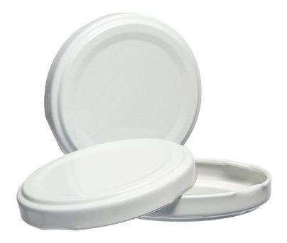 400 etiqueta lacre termoencolhivel p tampa metal branca 74mm