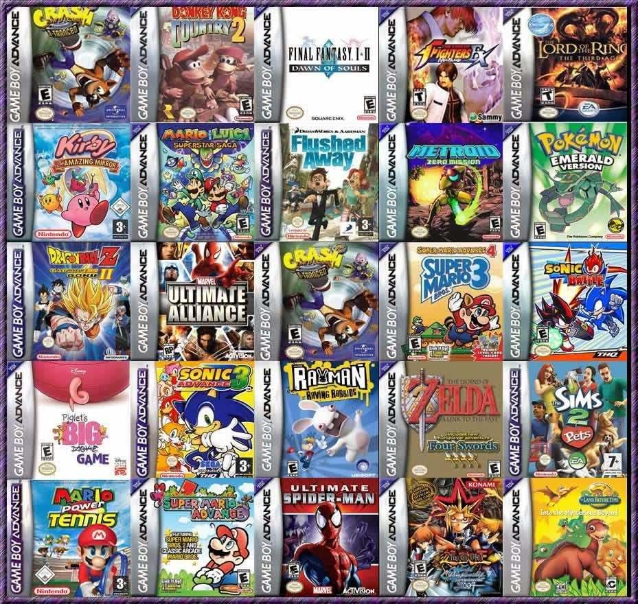 400 Juegos De Gameboy Advance En Tu Pc 104 99 En Mercado Libre
