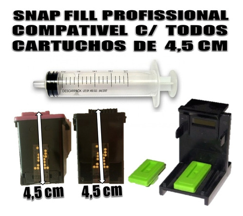 400 ml (4x100) tinta recarga cartucho impressora acessórios