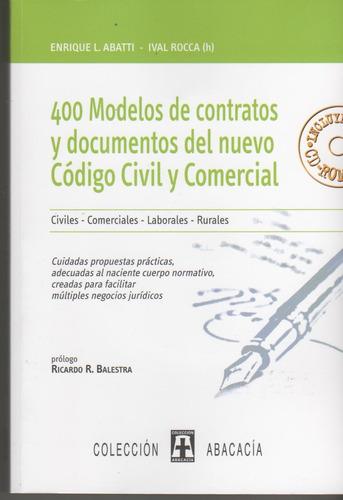 400 modelos contratos documentos nvo cód c y c garcia alonso