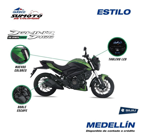 400 /moto dominar