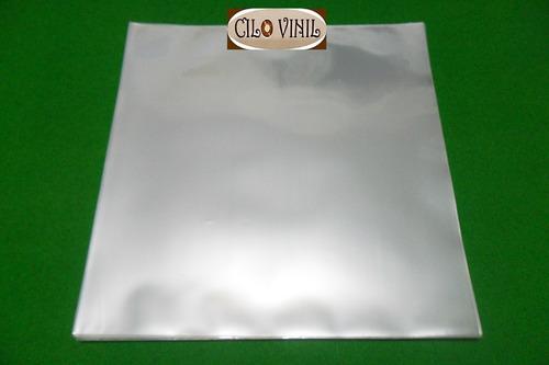 400 plásticos p/ capa de lp discos vinil - 0,20 extra grosso