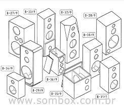 400 projetos caixas som sub grave grave e line array