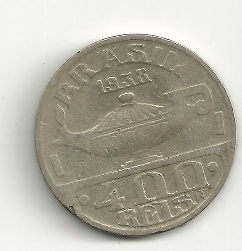 400 réis - 1938 - osvaldo cruz - brasileiros ilustres
