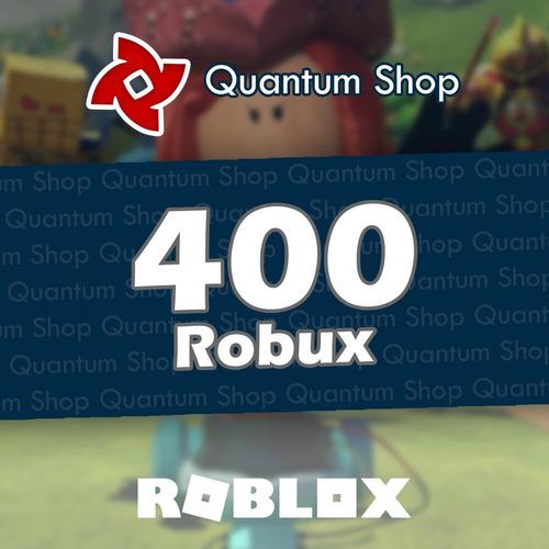 400 robux - roblox entrega inmediata mercadolider gold