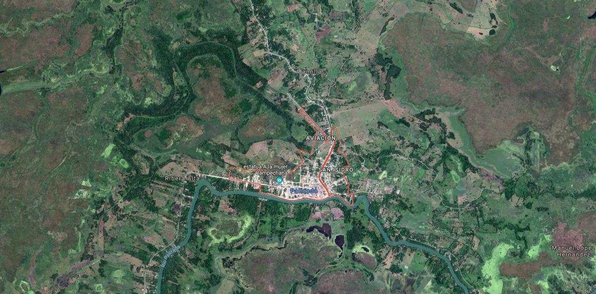 400 y 500 hectáreas en remate sobre autopista para palizada