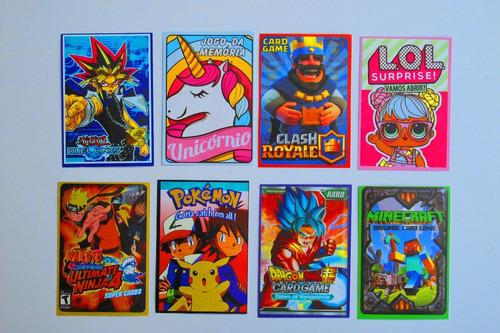 4000 cards variados* = 1.000 pcts fechados - mix