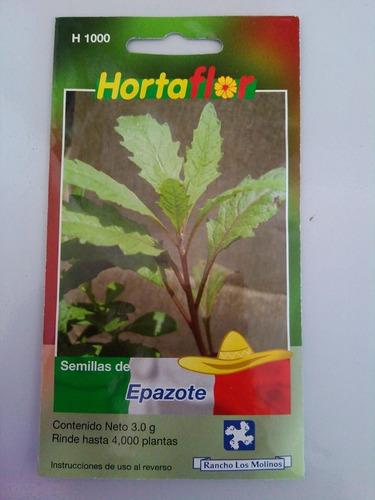 4000 semillas de epazote
