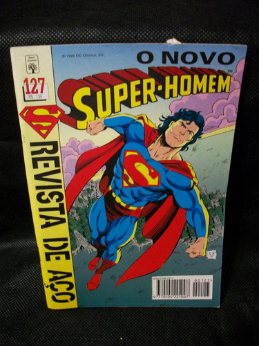4005 raro gibi super-homem nº 127 abril jovem
