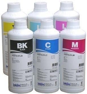 400ml de tinta corante ink tec para epson/hp 04 cores