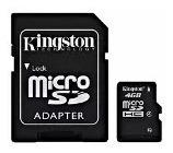 40.adaptador micro sd kingston
