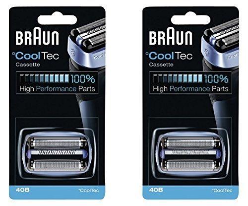 40b Braun Mens Máquina De Afeitar Eléctrica Cooltec Paque ... e07c68974b95