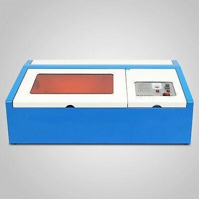 40w usb láser grabador grabado corte cortador máquina s-7626