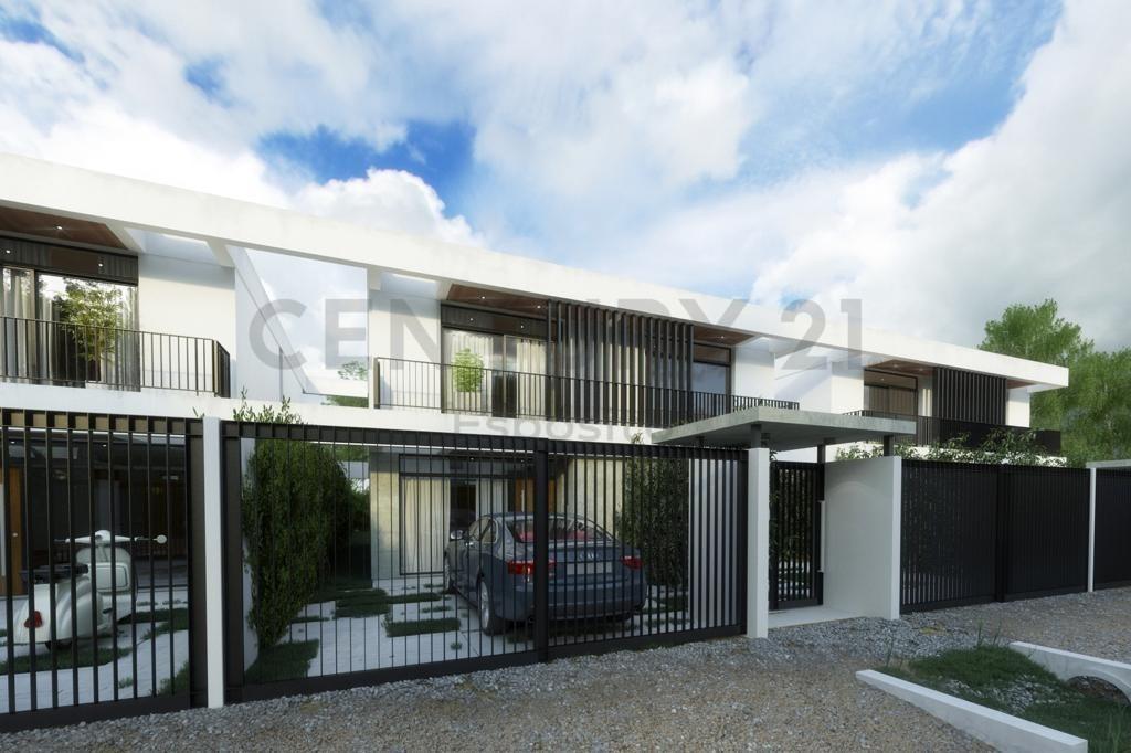 411 y 21 villa elisa, entre caminos. espaciosos dúplex con amplio espacio verde.