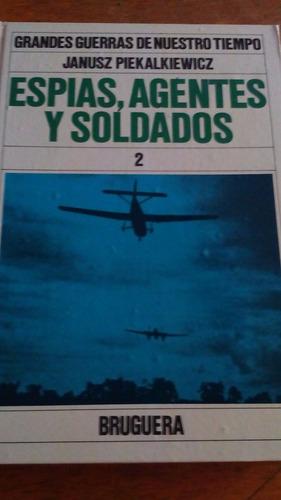 4170 libro gdes guerras de ntro tiempo espias agentes soldad
