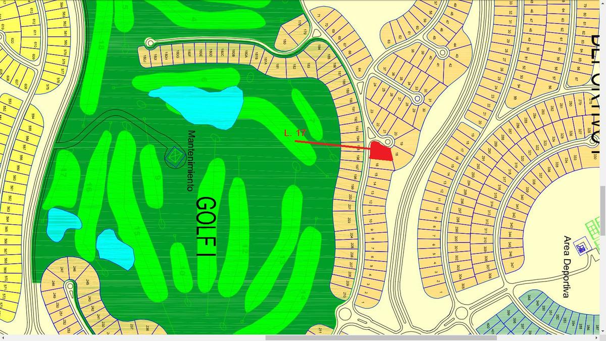 4183 - costa esmeralda golf i - lote 17