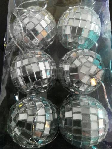 42 bolas de boliche espejadas para armar souvenirs nro 5