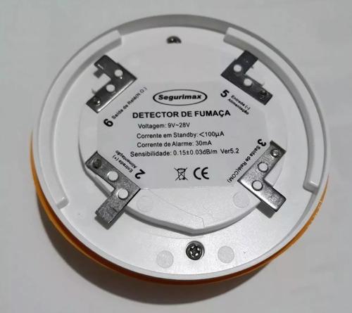 42 detector de fumaça óptico alarme aprovado