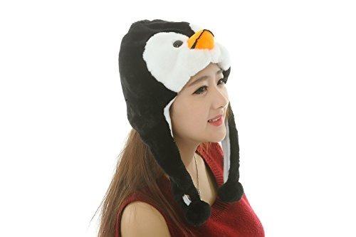 42 estilos animales unisex plush animal sombreros traje hoo