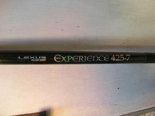4,25 lexus experience 100% grafito + keblar lisas permuto